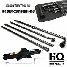 Repair Spare Tire Tool OEM For Ford 2004-2014 F150 and Scissor Jack Black Steel