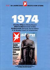 Beilage Magazin STERN - 50 Jahre das Beste vom Stern 1974