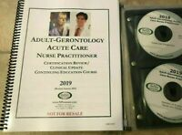 2019 Barkley Adult-Gerontology ACUTE CARE NP Review Book + All CD`s