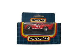 Vintage Matchbox Diescast Car MB41 Racing Porsche