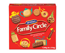 McVities Family Circle Assorted Biscuits Creamy Chocolate Jam Biscuits 1.24kg