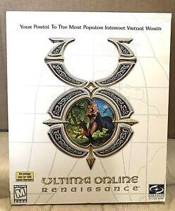 ORIGIN Ultima Online Renaissance PC 2000 WIN 95/98 New Sealed Free S&H