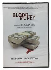BLOOD MONEY The Business of Abortion Film DVD Video (Dr. Alveda King) NEW/Sealed