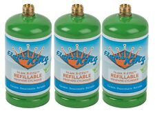 3-Pack 1lb Refillable Camping Propane Tank Cylinder 16.4 oz Bottle Ships Empty