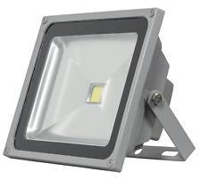 50W LED Fluter LED Fluter Flutlicht Strahler Scheinwerfer Außen grau KALTWEISS