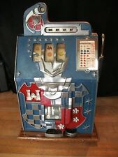 Antique 1930's MILLS CASTLE FRONT 10 CENT SLOT MACHINE ~ Beautiful and Works!!