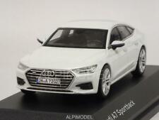 Audi A7 Sportback 2017 Glacier White Audi Promo 1:43 I-SCALE 5011707031
