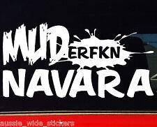 New 200mm Funny MUD Offroad 4x4 Ute Car accessories Stickers MUDerfkn NAVARA