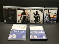 PS3 LOT OF (6) Battlefield 4 Soul Calibur Just cause MW3 skyrim