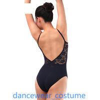 Adult Ladies Camisole Ballet Gymnastics Tight Dance Bodysuit Leotard Unitard New