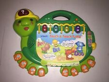 VTECH TOUCH & TOUCH TURTLE W/LIGHTS/SOUNDS/MUSIC/ABC/123 LEARNING TOY 4 KIDS
