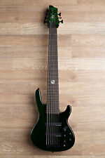 Wolf S11-7 7 String Bass Guitar - Dark Green (#6)