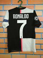 Ronaldo Juventus Jersey 2019 Home Kids Boys 11-12 y Shirt Adidas DW5453