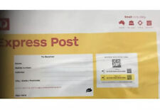 10 X Small (500g) Australia Post Prepaid Express Post Satchel! Send Up To 5 Kgs