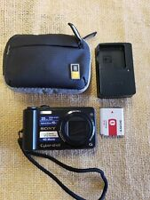 Sony zoom digital camera Cyber-Shot 16.1 Mega pixels with case/charger