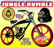 "48cc/66cc/80cc 2-Stroke Motorized Bike Kit With 26"" Gas Tank Frame Bike"
