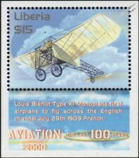 1909 Louis BLERIOT Type XI Monoplane English Channel Crossing Aircraft Stamp