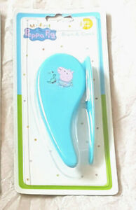 My First Peppa Pig Baby Hairbrush and Comb Bpa Free New  ( Blue )