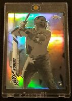 LUIS ROBERT 2020 TOPPS CHROME RC NEGATIVE REFRACTOR SP MINT #60 WHITE SOX