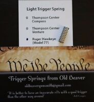 Ruger M77 Hawkeye Light Trigger Spring (HUNTER)