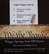Ruger M77 Hawkeye Light Trigger Spring (HUNTER)