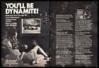 1974 CIE Cleveland Institute of Electronics Color TV Education Vintage PRINT AD photo