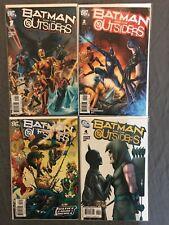 Batman and the Outsiders 1-4 NM DC Comics Gemini Shipping