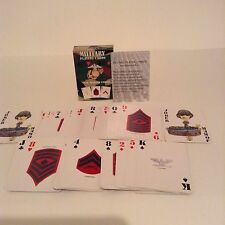 Single Complete Deck Preowned Us Marine Corps Military Playing Cards