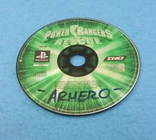 SONY PLAYSTATION 1 PS1 JUEGO PAL SOLO DISCO - POWER RANGER RESCUE