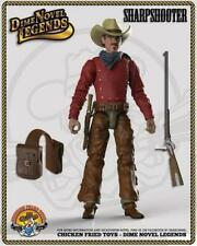 "Dime Novel Legends 1:18 scale (4"") old west action figure Sharpshooter"