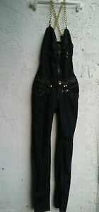 Apple Bottom overalls  Jumper size 3/ 4 gold chain