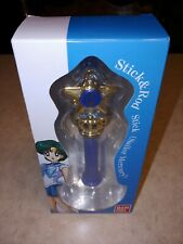 Sailor Moon Sailor Mercury Stick & Rod Transformation Wand, Bandai, New