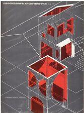 rivista - PROGRESSIVE ARCHITECTURE ANNO 1967 NUMERO 5