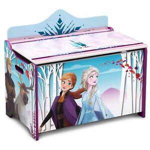 Frozen Toy Box For Kids Girls Toy Chest Gift Caja De Juguetes Para Niñas Cofre