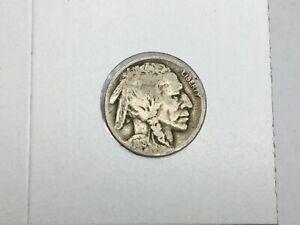 1918-D Buffalo Nickel in good