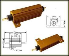 VISHAY Resistor Wirewound 2,2K 1% 50W Aluminum Drahtwiderstand 1 Stück