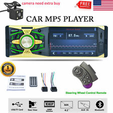 "4.1"" 1080P Hd Lcd Din Car Stereo Radio Bluetooth Mp3 Mp5 Player Fm Sd Aux Tf Usb"