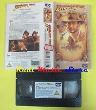 VHS film INDIANA JONES and the last crusade 1989 CIC VHR 2372 121min(F23) no dvd