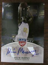 2012 Leaf Basketball Kevin Murphy Autographed Tennessee Tech #BA-KM3