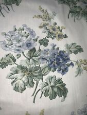 "FABULOUS LAURA ASHLEY DRAPES,BLUE&YELLOW FLORAL 86""L (2)SETS AVAILABLE"