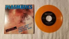 "THE PLASMATICS Dream Lover +2 more ORIGINAL US 7"" PS Single 45 ON ORANGE VINYL"