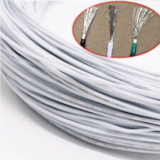 White Equipment Wire DIY Electrical Wire Flexible Cable UL1007 16~30AWG