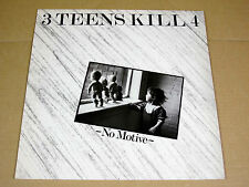 LP 3 Teens Kill 4 - No Motive - l' Invitation au Suicide  ID 3 - France 1984