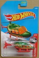 Hot Wheels 2017 41 of 365 Propper Chopper Hotwheels HW Rescue - Long Card