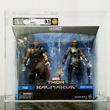 Marvel Legends Ragnarok Thor & Valkyrie Target Exclusive Set AFA 9.5