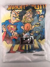 1997 SDCC San Diego Comic Con T-Shirt XL Sergio Aragones Batman New Sealed NIP