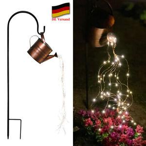 Garten Gieskanne Lichter Star Shower Lights Outdoor Wasserfall Lichterketten DHL