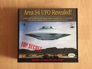 TESTORS MODEL KIT 576 - AREA S4 UFO REVEALED - Area 51 UFO - Bob Lazar