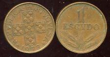 PORTUGAL  1 escudo  1973  ( aus )