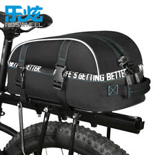 Bicycle Trunk Rear Bag Detachable Belt Bike Saddle Seat Pannier Double Layer 8l